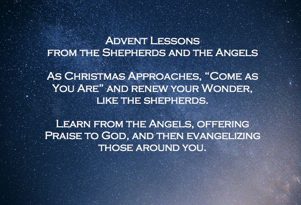 Lessons for Living from the Shepherds and the Angels