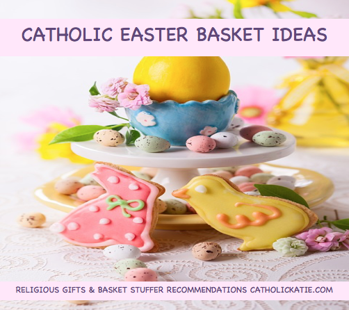 Catholic easter basket ideas katie warner negle Choice Image