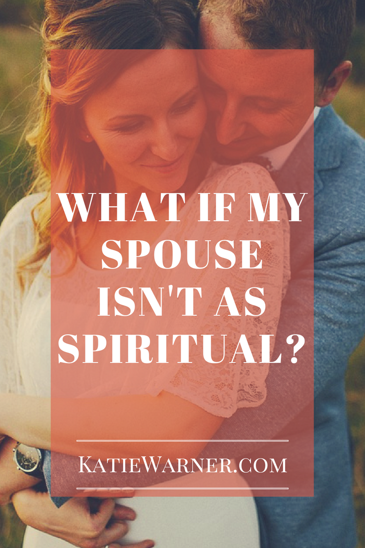 What if my spouse isn't as spiritual as I hope he or she would be?